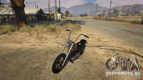 Daemon SOA Harley-Davidson для GTA 5 вид сзади