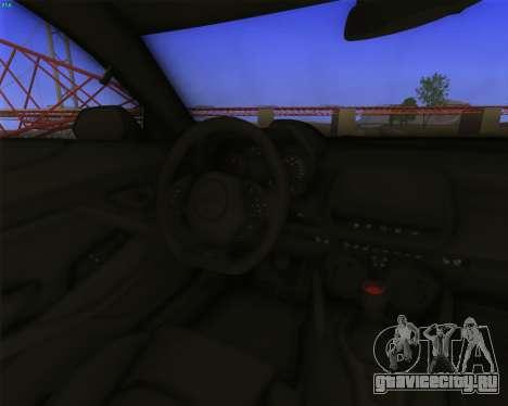 Chevrolet Camaro SS Xtreme для GTA San Andreas вид сзади