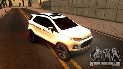 Ford EcoSport 2016 для GTA San Andreas вид слева