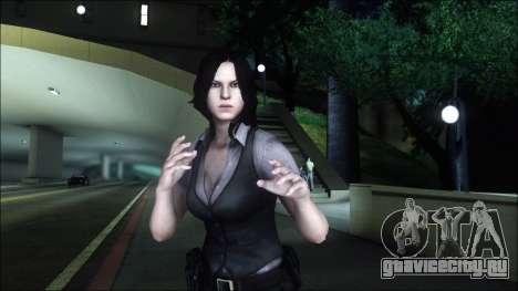 Resident Evil 6 - Helena Usa Outfit для GTA San Andreas третий скриншот