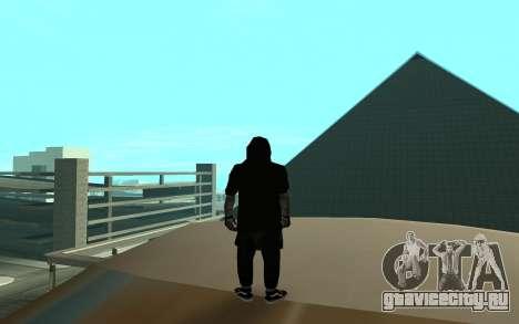 Ballas Gang Member для GTA San Andreas третий скриншот