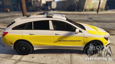Deutscher Schwertransport Wagen для GTA 5