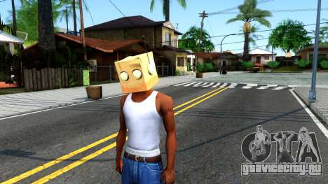 Bot Fan Mask From The Sims 3 для GTA San Andreas