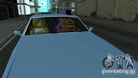 Five Nights At Freddys для GTA San Andreas