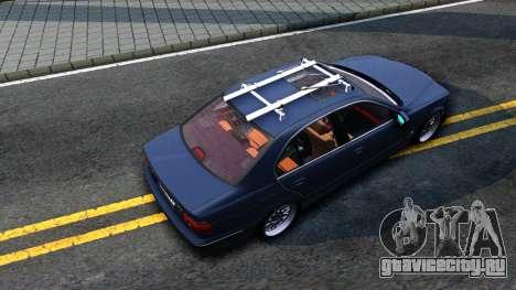 BMW e39 530d для GTA San Andreas вид сзади