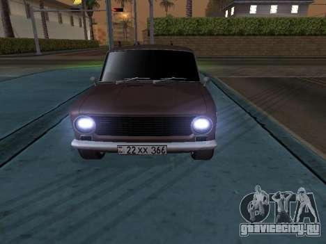 VAZ 2101 Аrmenian для GTA San Andreas вид слева