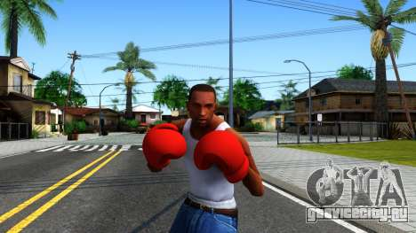 Red Boxing Gloves Team Fortress 2 для GTA San Andreas третий скриншот