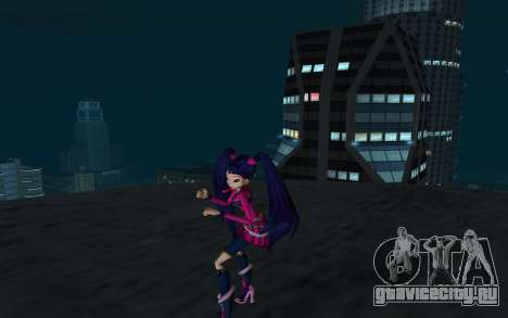 Musa Rock Outfit from Winx Club Rockstars для GTA San Andreas