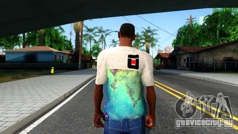 Design Galaxy T-Shirt для GTA San Andreas третий скриншот