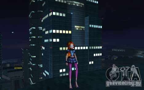 Bloom Rock Outfit from Winx Club Rockstar для GTA San Andreas