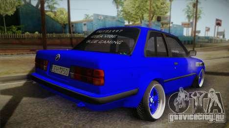 BMW M3 E30 Rocketbunny для GTA San Andreas вид слева