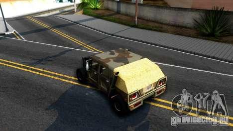 New Patriot GTA V для GTA San Andreas вид справа