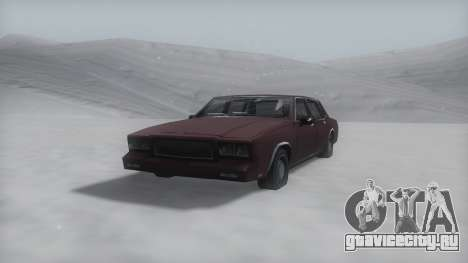 Tahoma Winter IVF для GTA San Andreas