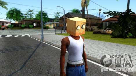 Bot Fan Mask From The Sims 3 для GTA San Andreas второй скриншот