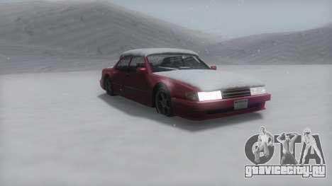 Sunrise Winter IVF для GTA San Andreas
