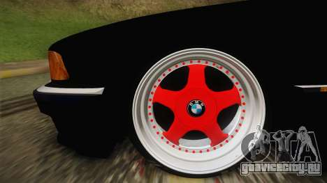 BMW 7 Series E38 Low для GTA San Andreas вид сзади слева