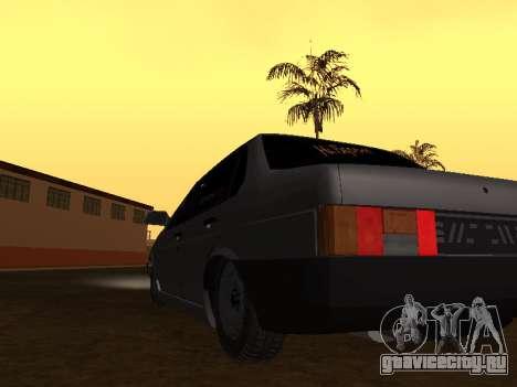 VAZ 21099 BPAN для GTA San Andreas вид справа