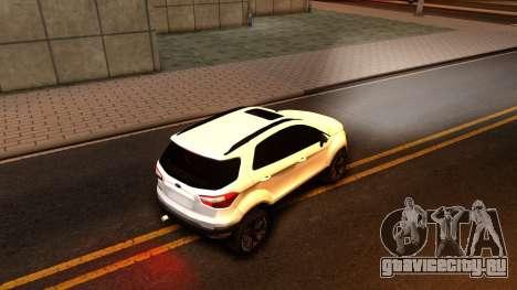 Ford EcoSport 2016 для GTA San Andreas вид справа