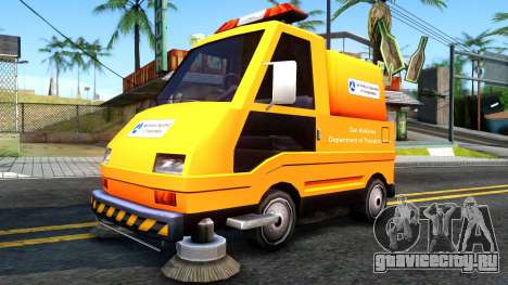 Brute Sweeper SA DOT 1992 для GTA San Andreas