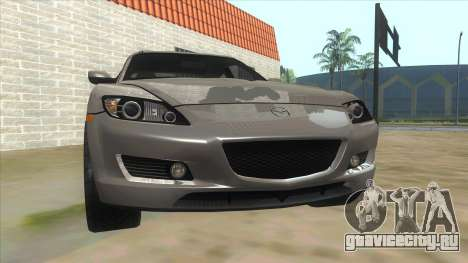 NFS PRO STREET: Mazda RX-8 Tunable для GTA San Andreas вид сзади