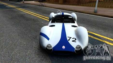 Maserati Tipo 61 для GTA San Andreas
