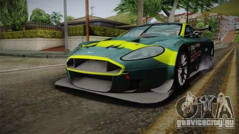 Aston Martin Racing DBRS9 GT3 2006 v1.0.6 YCH v2 для GTA San Andreas двигатель