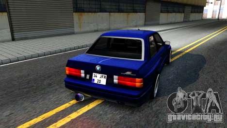 BMW E30 для GTA San Andreas вид справа