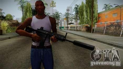 HK416 v3 для GTA San Andreas третий скриншот