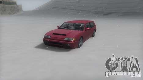 Flash Winter IVF для GTA San Andreas вид сзади слева