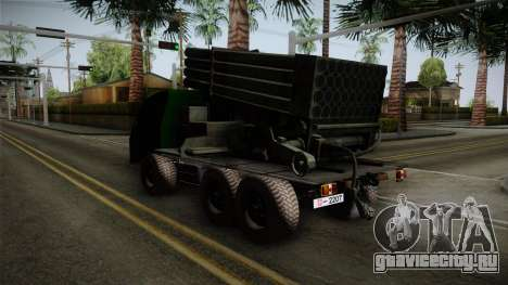 TAM 110 Serbian Military Vehicle для GTA San Andreas вид сзади слева