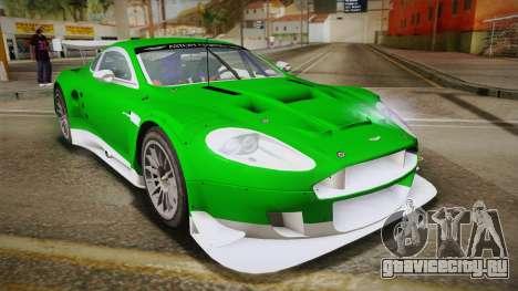 Aston Martin Racing DBR9 2005 v2.0.1 YCH Dirt для GTA San Andreas