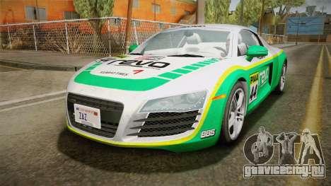 Audi R8 Coupe 4.2 FSI quattro US-Spec v1.0.0 YCH для GTA San Andreas вид сбоку