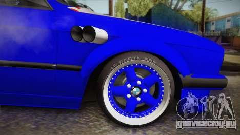 BMW M3 E30 Rocketbunny для GTA San Andreas вид сзади слева