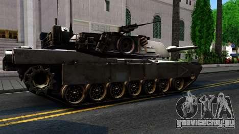 M1A1 Abrams COD4MW Remastered для GTA San Andreas вид изнутри