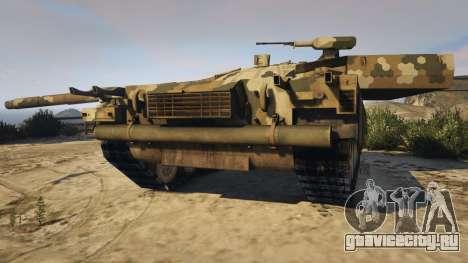 T-100 Varsuk для GTA 5 вид сзади
