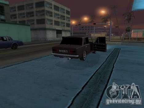 VAZ 2101 Аrmenian для GTA San Andreas салон