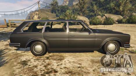 Glendale Station Wagon для GTA 5 вид слева