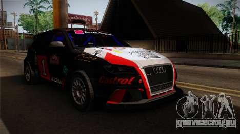 Audi RS3 Sportback Rally WRC для GTA San Andreas