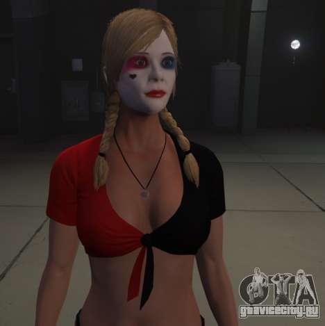 Harley Quinn Tracey для GTA 5