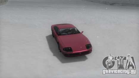Jester Winter IVF для GTA San Andreas вид сзади слева