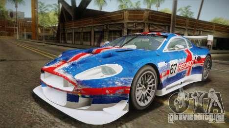 Aston Martin Racing DBR9 2005 v2.0.1 YCH для GTA San Andreas вид изнутри