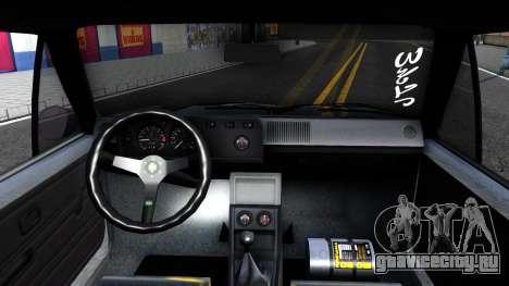 VW Golf Mk1 GTI Stance для GTA San Andreas
