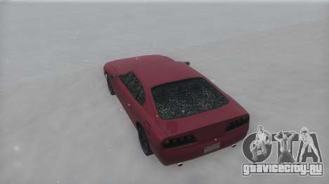 Jester Winter IVF для GTA San Andreas вид справа