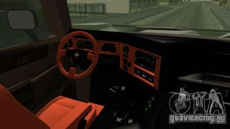 Hummer H2 6x6 Monster для GTA San Andreas вид изнутри