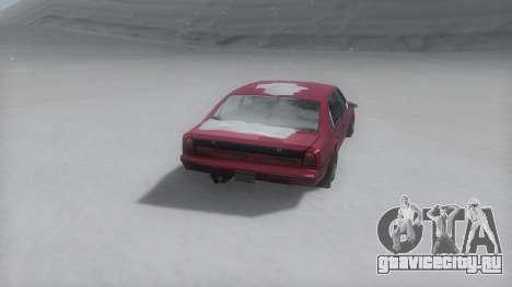 Emperor Winter IVF для GTA San Andreas вид слева