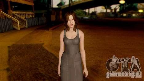 Resident Evil 6 - Helena Harper Dress для GTA San Andreas