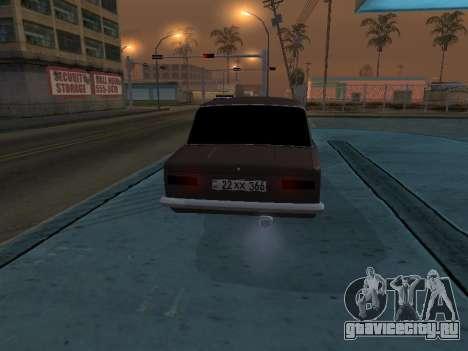 VAZ 2101 Аrmenian для GTA San Andreas вид сбоку