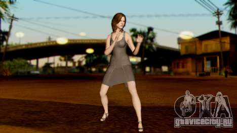 Resident Evil 6 - Helena Harper Dress для GTA San Andreas третий скриншот