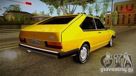 Volkswagen Passat 1981 для GTA San Andreas вид слева