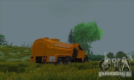 Ural Next Бензовоз для GTA San Andreas вид слева